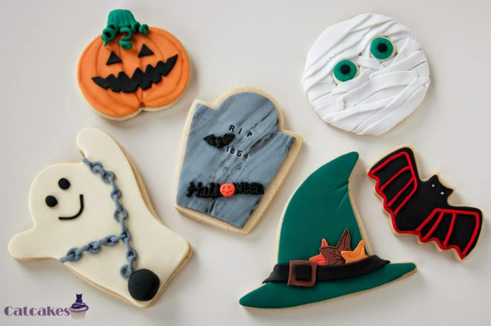 Curso galletas fondant Madrid - Halloween