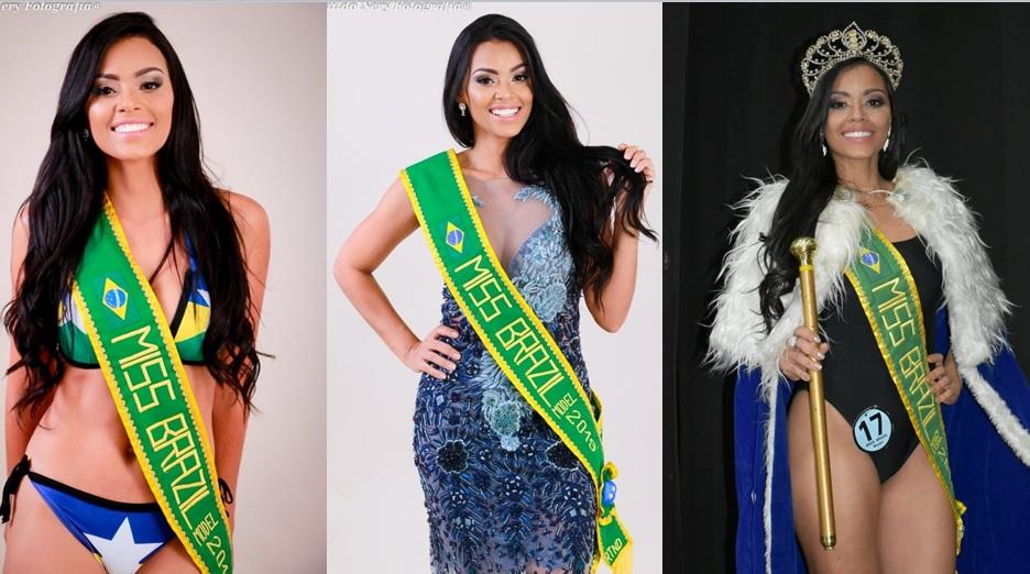 Miss Brasil Model 2019, Rany Saraiva ganha seu primeiro título Nacional e não esconde tamanha felic
