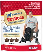 http://www.bil-jac.com/dog-treats-vet-dogs.php