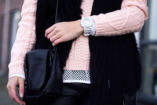Fashion Attacks outfit ootd Touch of Pink Baby G-Shock