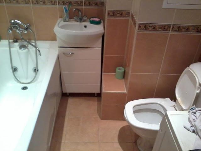 Ремонт в ванной кафель образец фото