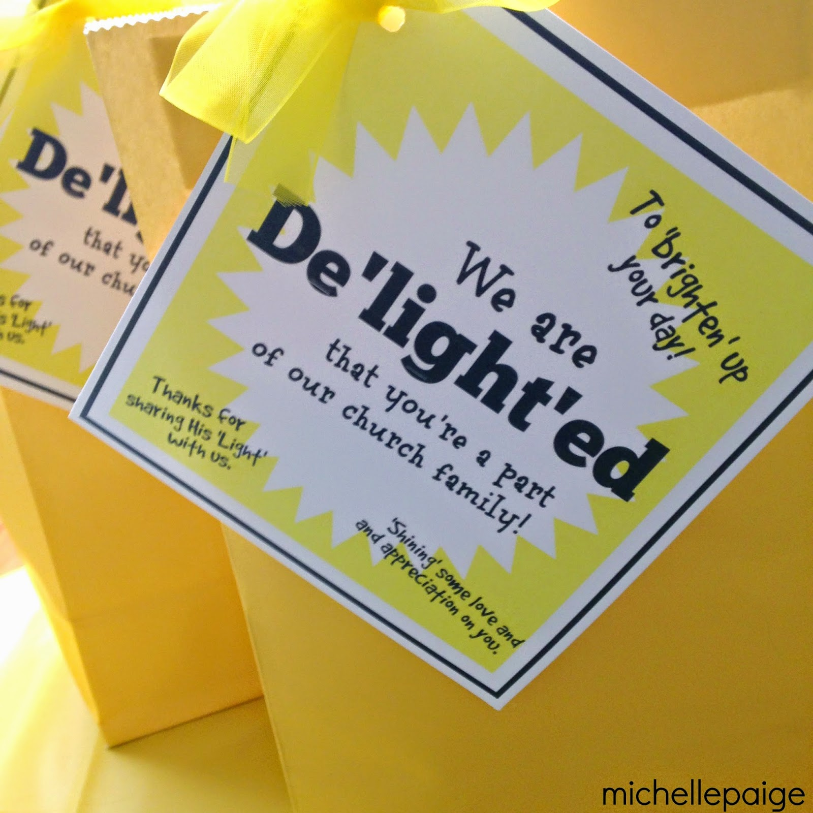 michelle paige blogs: Delightful Pastor Appreciation Gifts
