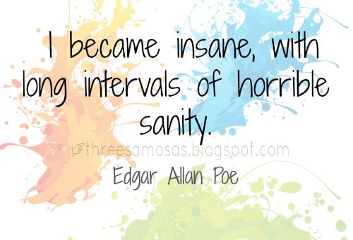 Sanity Edgar Allan Poe