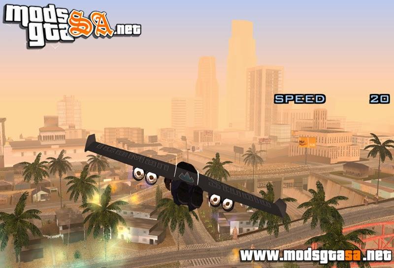 SA - Mod Jet Wing (Voar Com Asas Motorizadas)