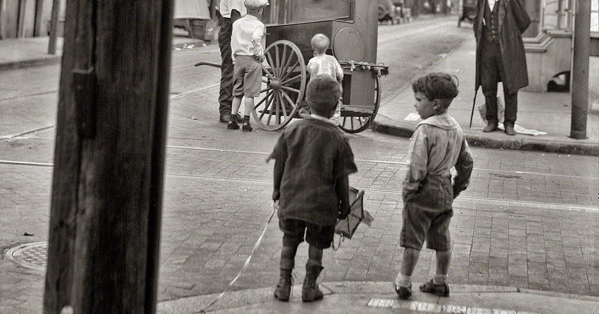 Vintage Everyday Bourbon Boys New Orleans 1925