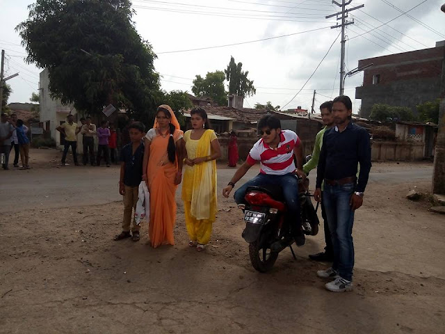 Dildar Sajana Bhojpuri Film Shooting photo