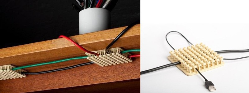 15 smart and useful organizers for your office - How to organize cables on desk ...