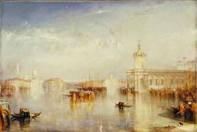 Venise : La Dogana - San Giorgio de William Turner, 1842