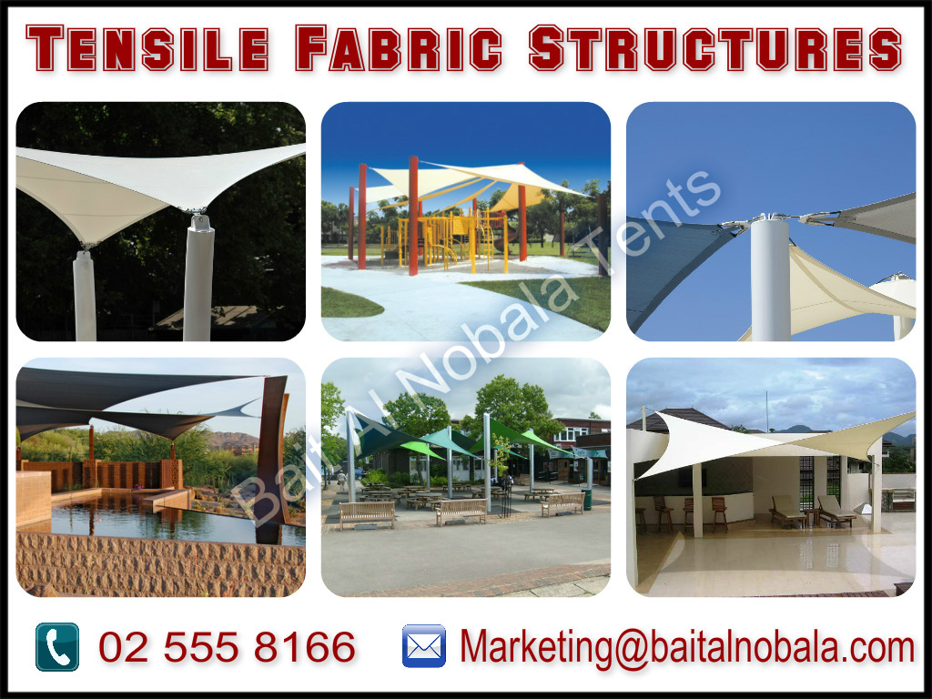 Tensile Fabric Shades