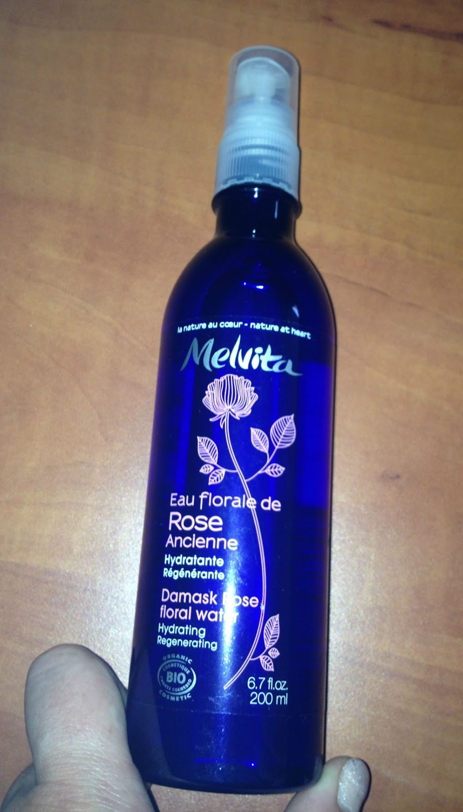 melvita eau de rose