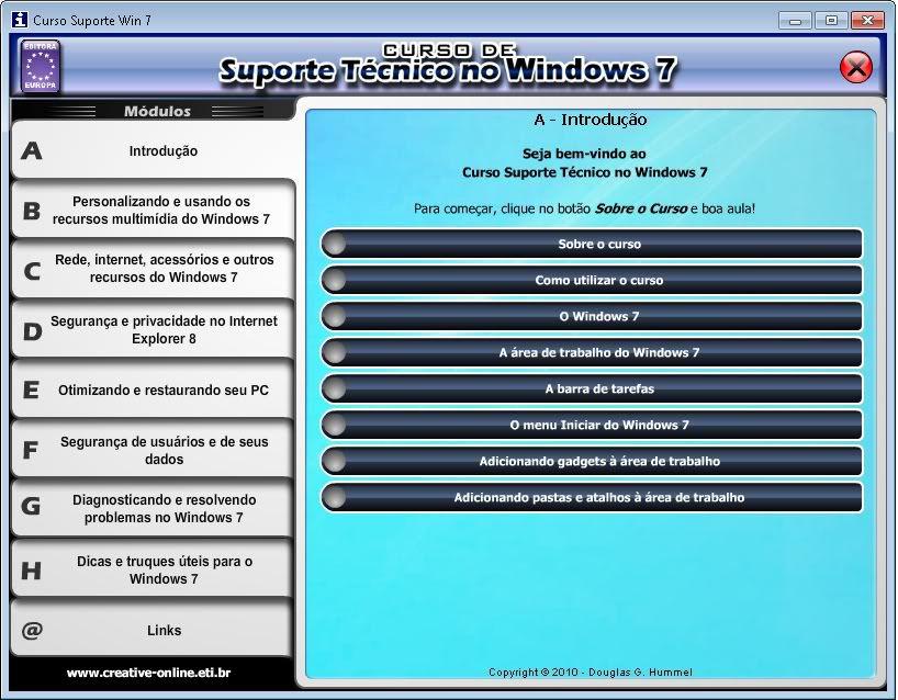 Curso de Suporte Técnico no Windows 7 8ddfd12ee128918b7ee4c5c3a4dd42a8