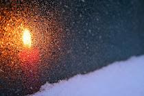 Frostat ljus