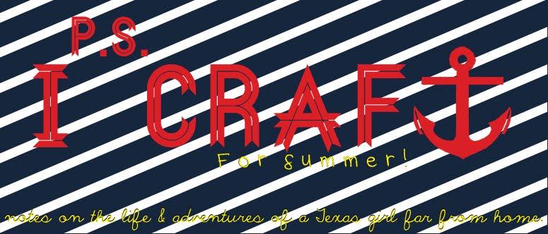 P.S. I Craft