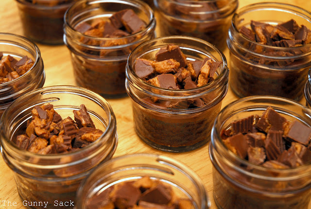Peanut Butter Cups In Jars