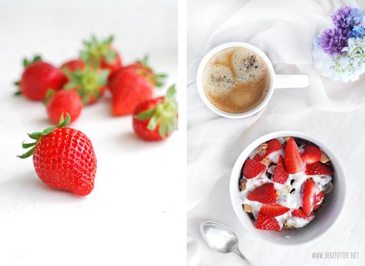 Erdbeerenmüsli