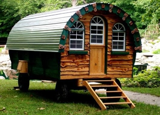 the flying tortoise  gypsy wagons  tiny colourful bohemian