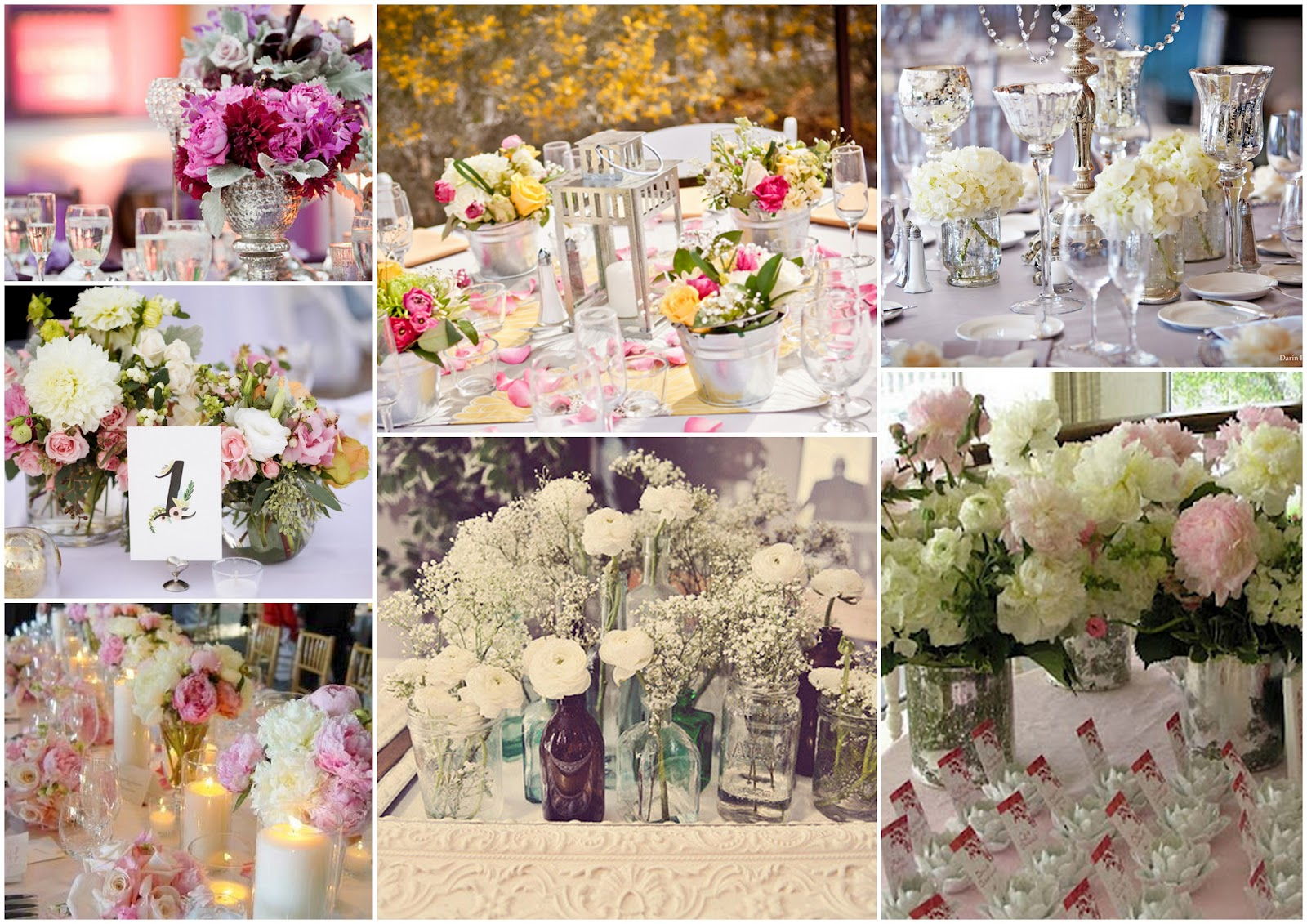 Matrimonio e un tocco di classe decorar la sala de la recepci n - Addobbi sala matrimonio ...