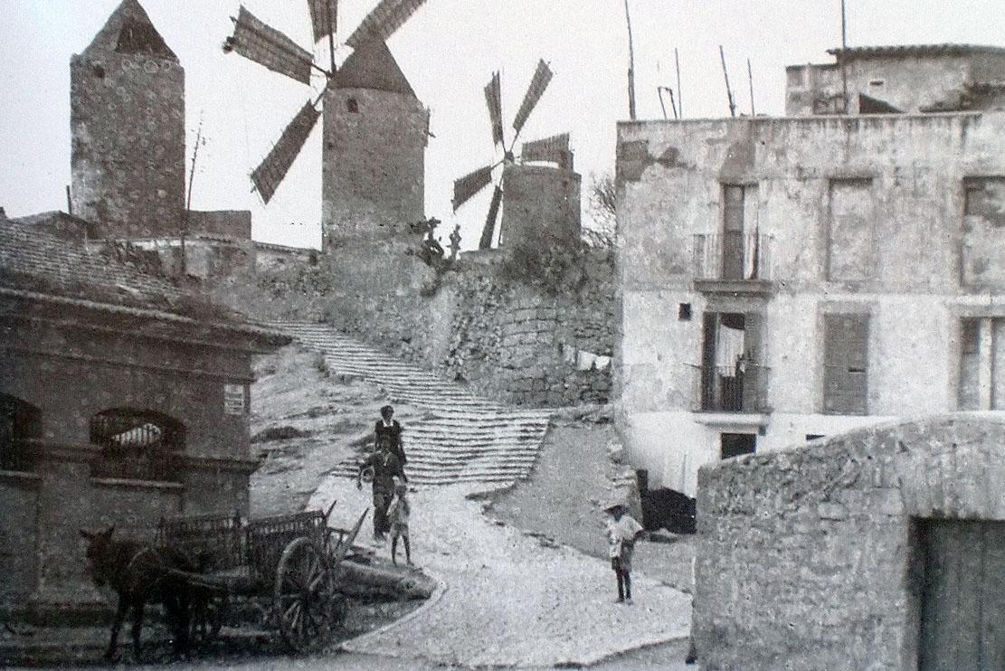 Fotos antiguas de mallorca historia del arrabal de santa - Fotografia palma de mallorca ...
