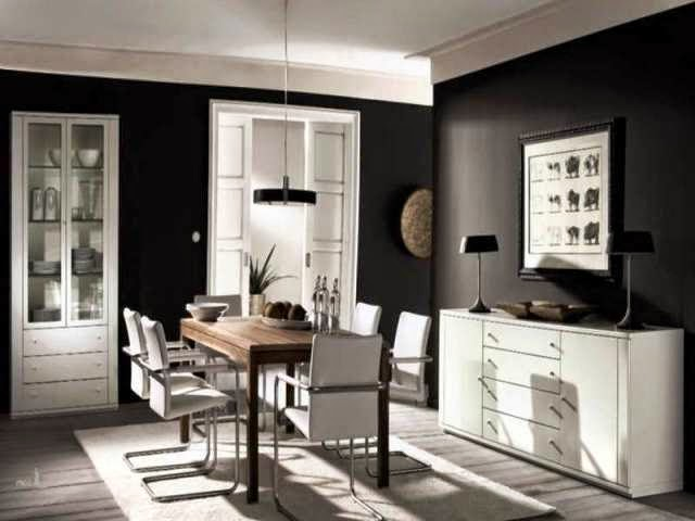 Wall paint colors for dining rooms for Wall colors for dark rooms