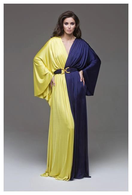Vestidos de noche con inspiración asiática
