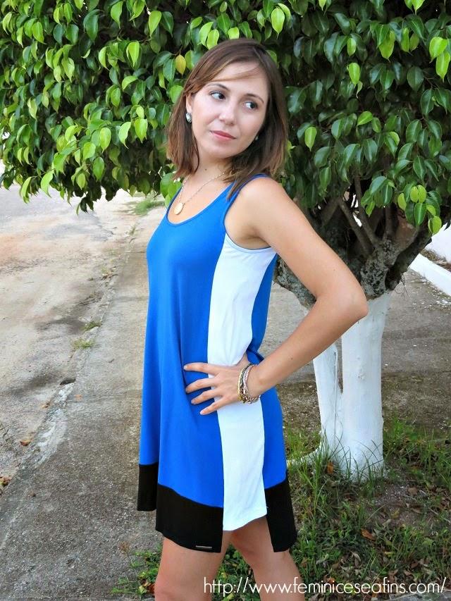 Vestido Malha Restritto