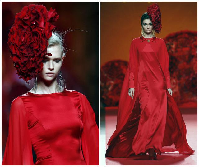 francis montesinos mbfwm otoño invierno 2015 look invitada boda blog atodoconfetti