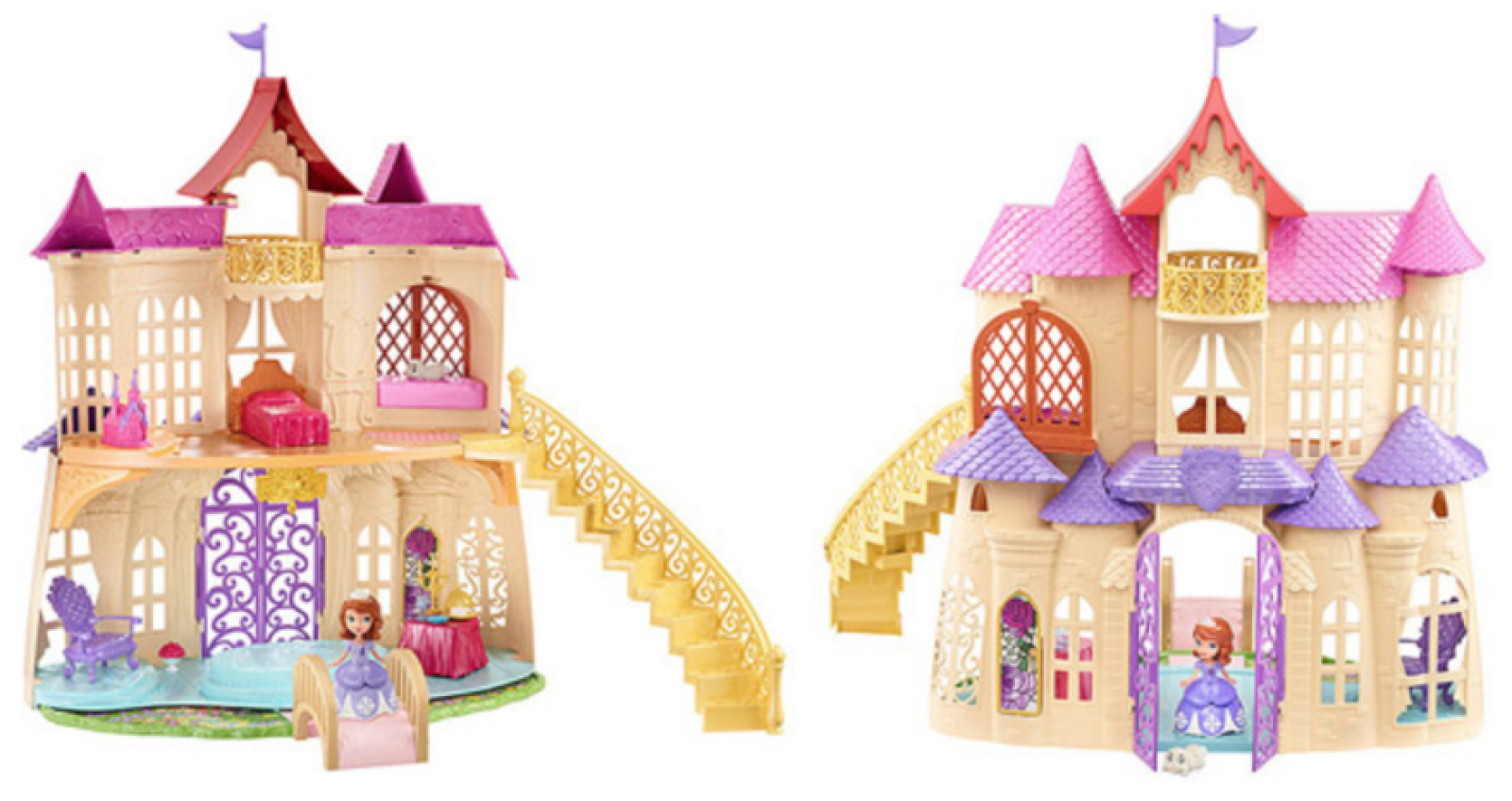 Sofia The First Castle Printable