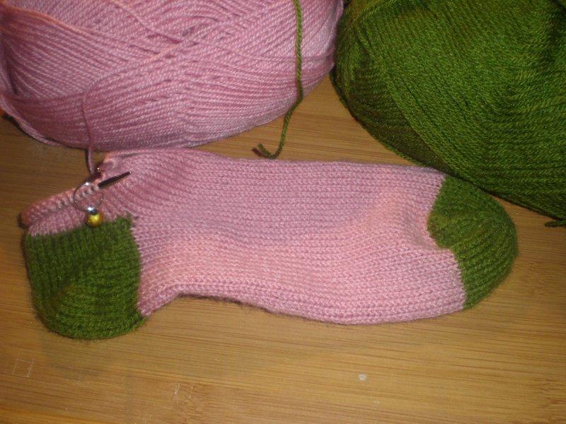 Labores en el desván: Para abrigarse: Calcetines...