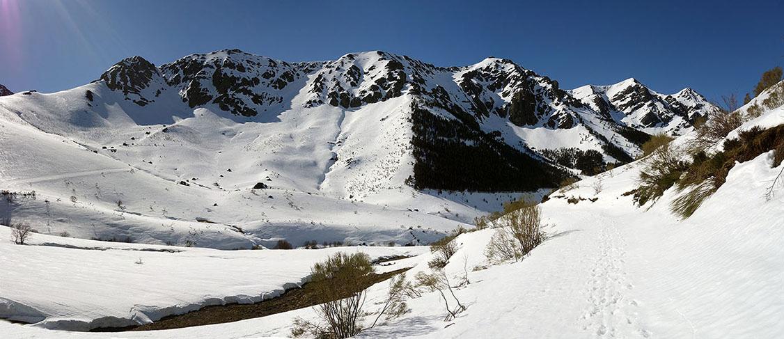 Sierra de orpiñas, Valle del Naranco, Pico La Calar