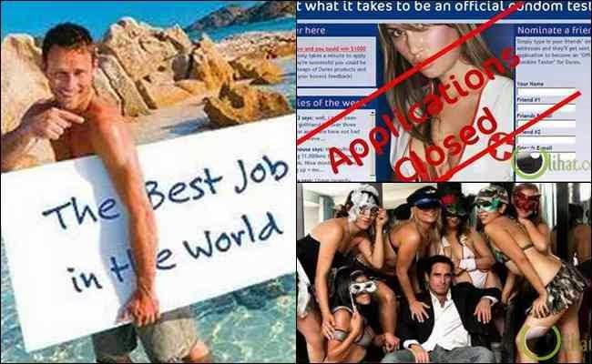 10 Pekerjaan yang paling Nikmat di Muka Bumi