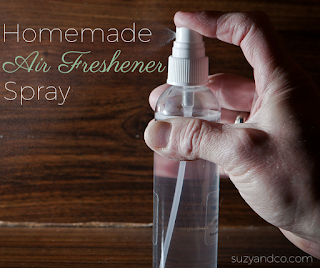 Homemade air freshener spray | suzyhomemaker.net