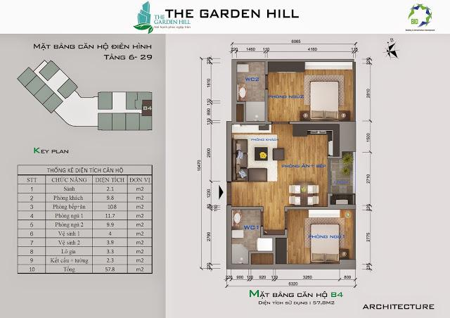 căn b4 chung cư the garden hill