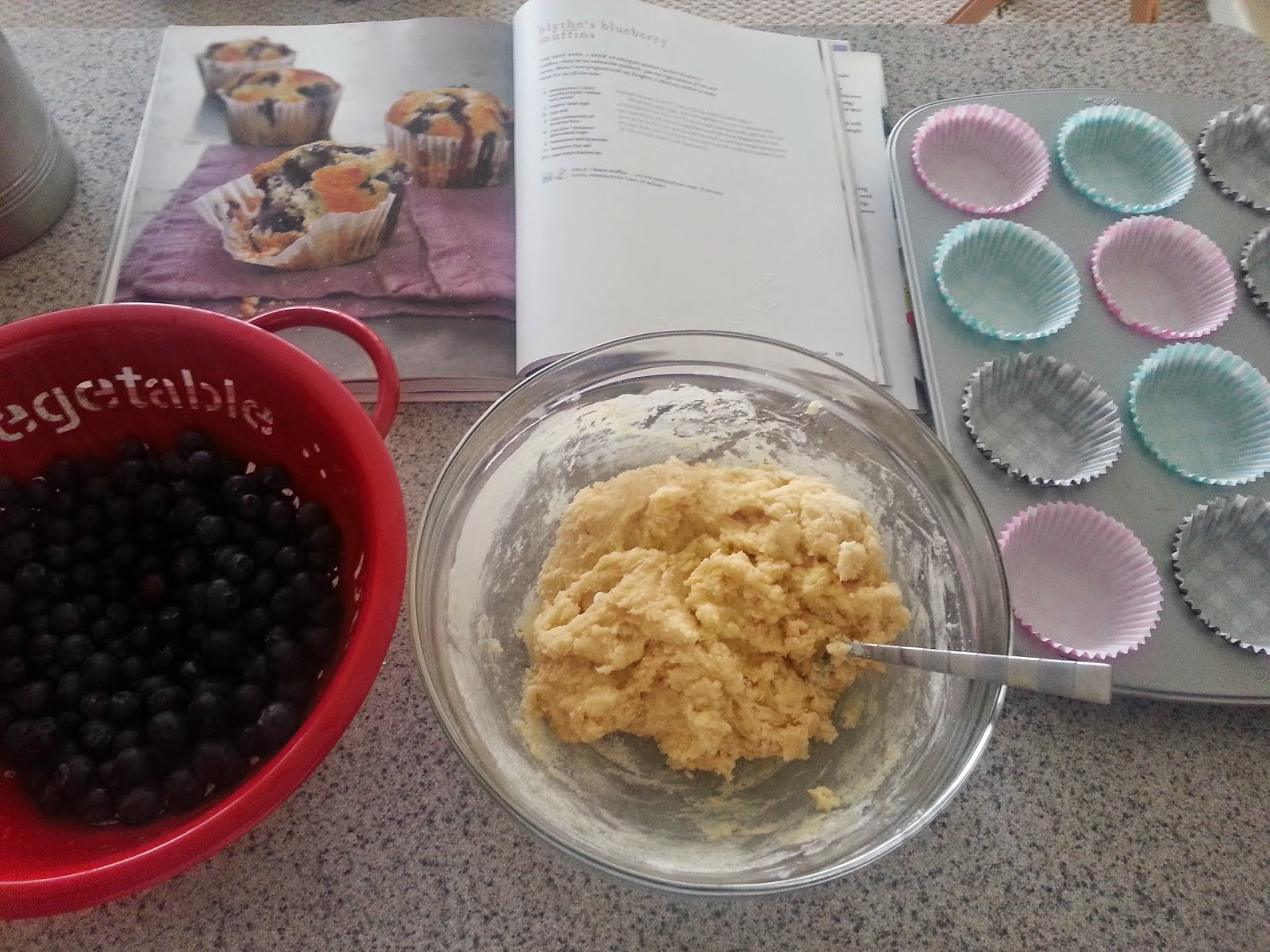 Recipe, Blueberry Muffin, Gwyneth Paltrow, Blythe