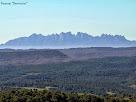"""La muntanya de Montserrat des del Turó de Sant Genís. Autor: Francesc """"Caminaire"""""""