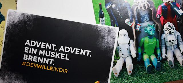 Flussperle Pumpen Fitness McFit Star Wars Postkarte Liste Fitspo