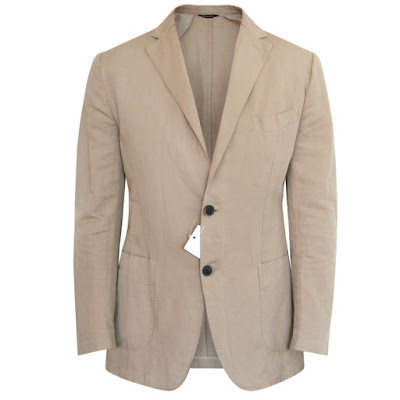 sid mashburn cotton linen blazer sport coat jacket
