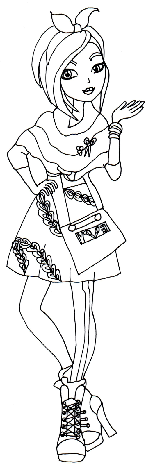 holly ohair coloring pages - photo#21