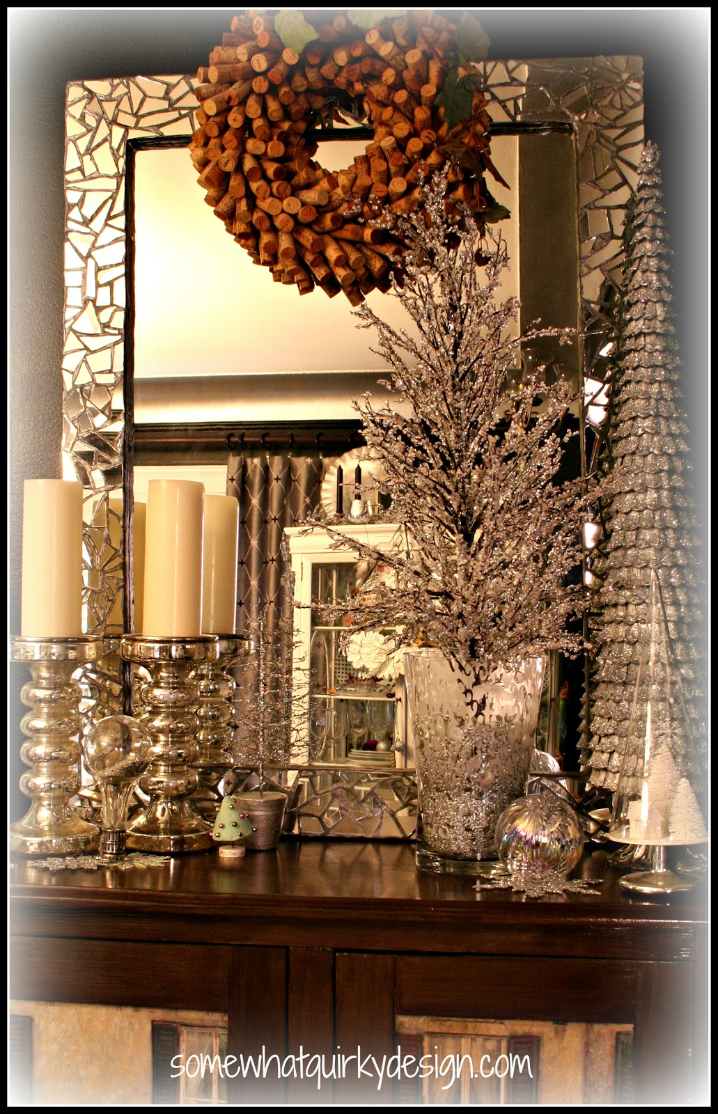Somewhat Quirky Christmas Vignettes
