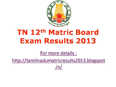 www tn gov in tn 10th 12th re exam results