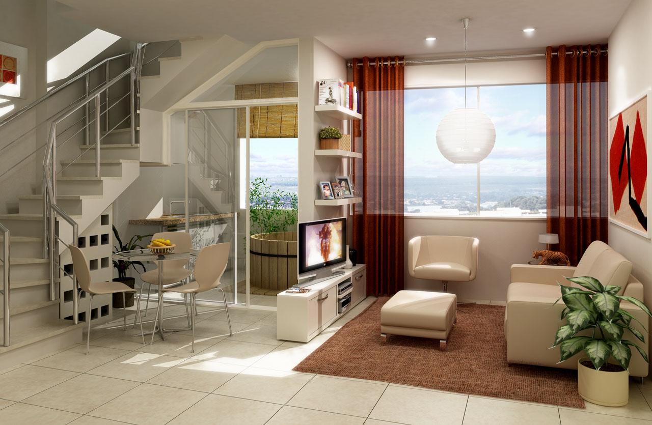 Another Image For Com uma cozinha planejada com mesa embutida você  #B12618 1280 835