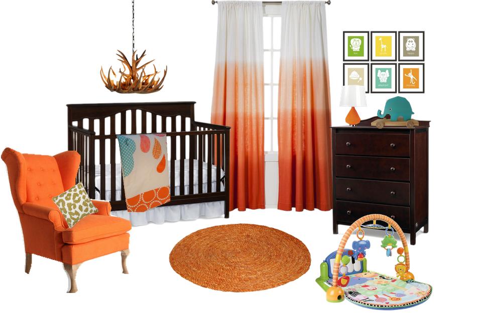 Cool Hombre Safari Nursery Design