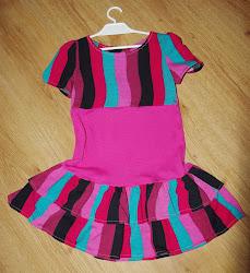Sukienka z falami