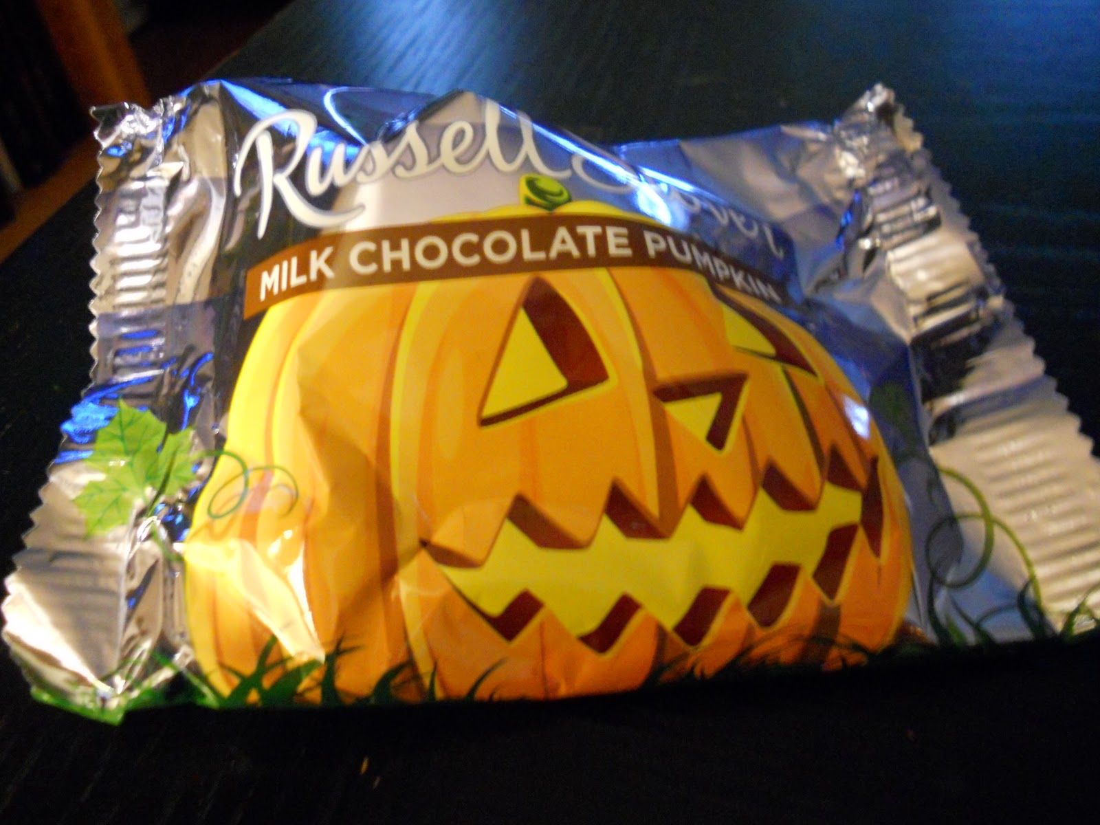 candy yum yum!: russell stover pumpkins: made in the u.s.a.