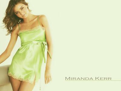 Hollywood Actress Miranda Kerr