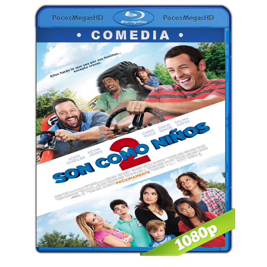 Son Como Niños 2 (2013) BRRip 1080p Audio Dual Latino/Ingles 5.1