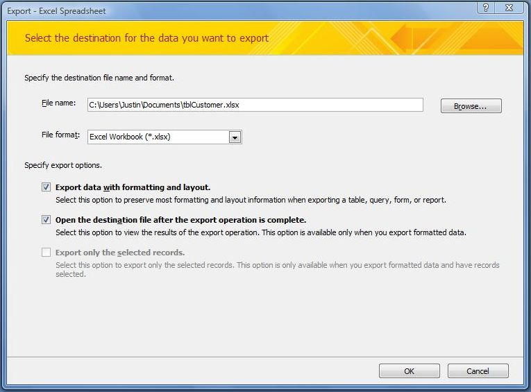 excel ms access import export convert software 70 free