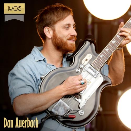 14 de mayo | Dan Auerbach - @danauerbach | Info + vídeos