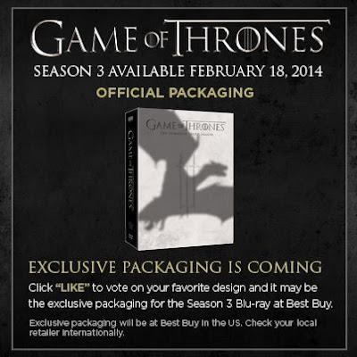 portada dvd tercera temporada juego de tronos - Juego de Tronos en los siete reinos