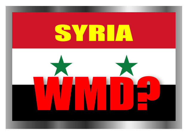 syrian alleged chemical weapons