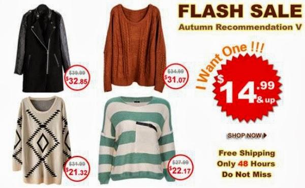 Romwe Bestseller Autumn Recommendation Flash Sale V